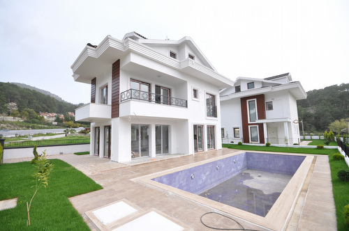New villa ready for possession - for sale, Gocek, Fethiye
