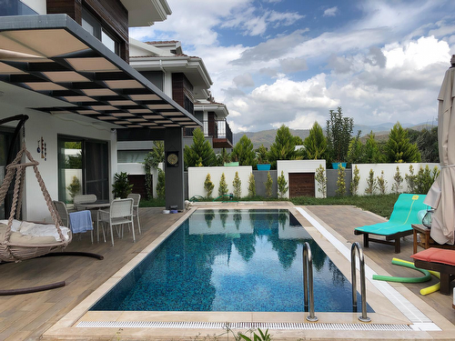 Luxury villa with pool for sale in Fethiye, Calis