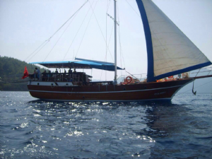 Private weekly sailing boat trips